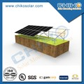 1MW Ground Solar System Aluminium Brackets with Anchor