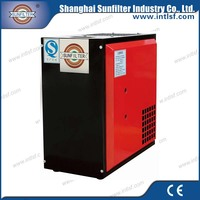 OEM refrigerated compressed air dryer with small size air compressor