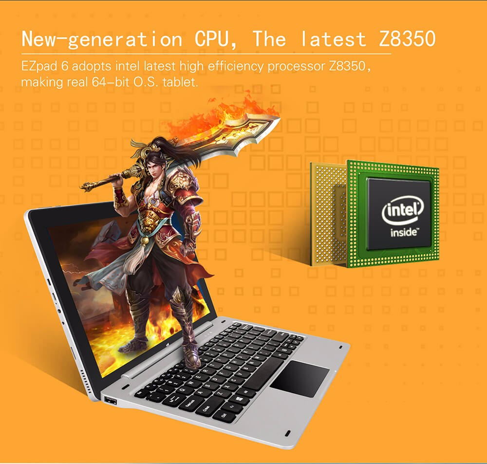 Jumper EZpad 6 tablet PC 11.6'' Windows10 IPS 1920 x 1080 Intel Cherry Trail Z8350 4GB 64GB WiFi windows10 tablet laptop