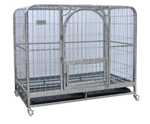 Wholesale Metal Commercial Transport Dog Cage Heavy Duty Dog Kennel With Wheels For Sale Cheap