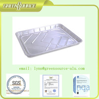Ready Made In China Divided Food Grade Aluminum Foil Container/Tray