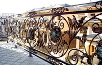 Wrougth Iron stair railing / Wrought Iron balcony railing