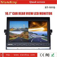 10.1 inch stable truck split screen lcd monitor