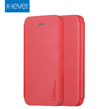 X-Level 2015 Top Sale Mobile Phone Flip Case For Iphone 4 4s 5 5s Phone Case