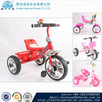 2016 beautiful design baby stroller tricycle/kids tricycle with back seat
