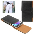 Elephant Texture Vertical Style Leather Case with Belt Clip for iPhone 6, Samsung Galaxy S 5 / G900(Black)