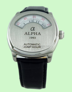 automatic winding Jump Hour watches