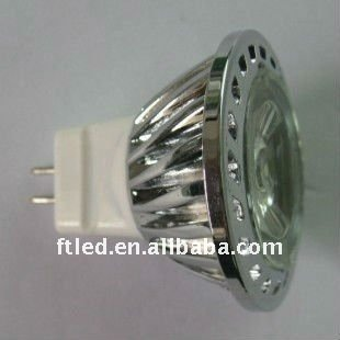 High Power led 1W Spotlight 12V 70-80LM 38 Deg