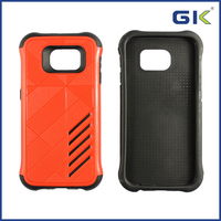 [GGIT] New Arrival Celulares 2 in 1 Shockproof Phone Case For Samsung Galaxy S6, TPU+PC Phone Case