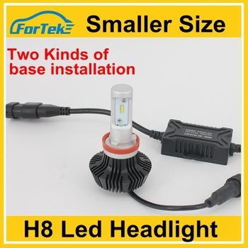 Supply smaller size fog light H8 LED Headlight Bulbs Car Fog Light H8