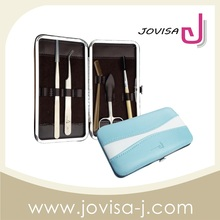 JOVISA Stainless steel Slanted Eyebrow tweezer pack in display box