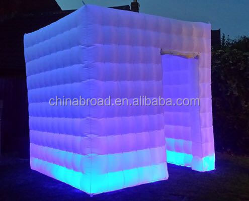 Popular led inflatable photobooth for sale