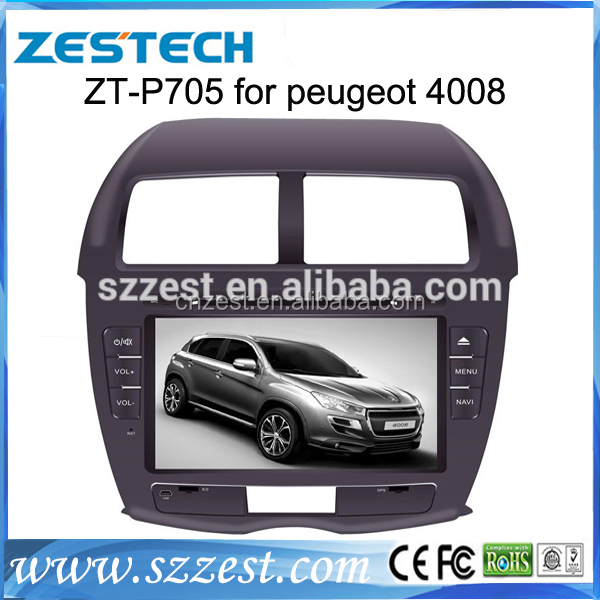 ZESTECH Car Auo Parts 2 din Wince 6.0 accessories stereo car dvd gps for Peugeot 4008 Mitsubishi ASX Citrone C-crosser DVD