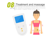 stay pale bio therapy device tense foot massager promotion electric massage machine