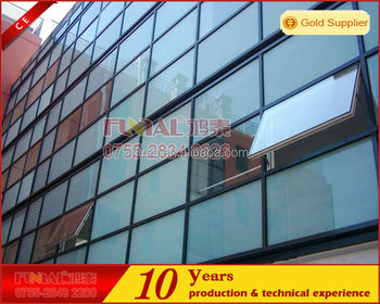 modern design Invisible curtain wall for high end project exterior wall designs