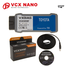 Original Allscanner VXDIAG VCX NANO support SAE J2534 protocol V10.30.029 version techstream scanner for toyota