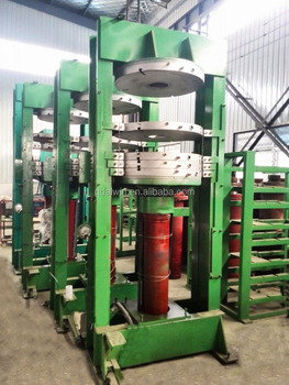 Four-layer air bag hydraulic tire curing press