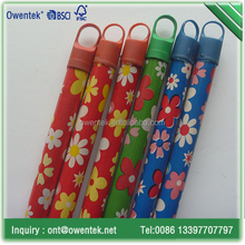 120*2.4cm pvc cover type round wooden rolling pole