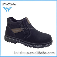 Korean fashion men genuine leather kid suede casual shoe ,new sole casual shoe