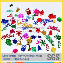 Mixed Merry Christmas party confetti