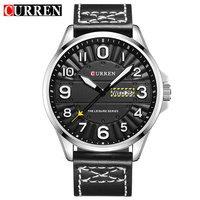 CURREN 8269 Clock Men Wrist Watch Man Top Brand Luxury Sports Male Watches Leather Army Military Mens Wristwatch
