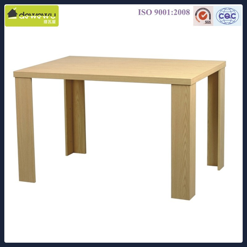 Partical board panel wooden coffee table
