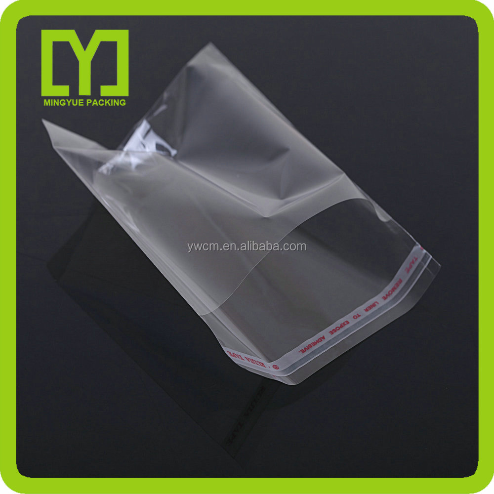 2017 Yiwu Alibaba China promotional self seal opp bag plastic packaging