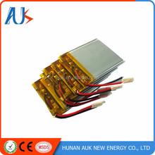 Factory price 804060 3.7V 2250mah lipo battery Rechargeable Lithium Polymer Battery