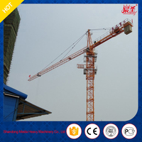 factory direct price QTZ60-5010 topless good job tower crane for India