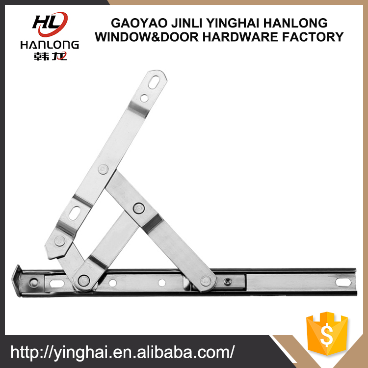 Top-hung friction stay hinge for window
