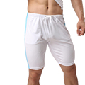 Fitness Bodybuilding Men Sport Shorts Breathable Mid Waist Comfortable Short Pants Jogging Running Gym Bottoms
