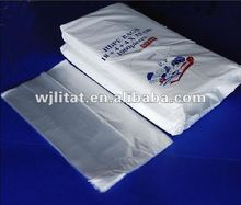 Plastic HDPE Butcher Packaging Bag