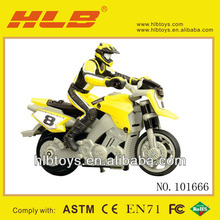 2013 New Toys! RC MINI MOTORCYCLE, 2 WHEELS RC STUNT MOTORBIKE