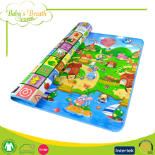 PB-02 Wholesale Animal Design Baby Folding Play Mat Gym Baby Crawl Playing Mat