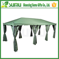 Alibaba high quality outdoor ISO,TUV approved metal gazebo