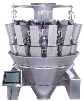 14 heads multi-head combination weigher for sticky products