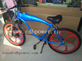 blue color gas tank built complete bicycle/bike/scooter