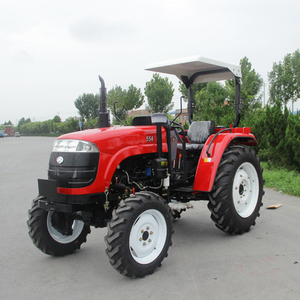 2019 hot selling low price small 45hp 55hp farm 4wd china lawn tractor with mower