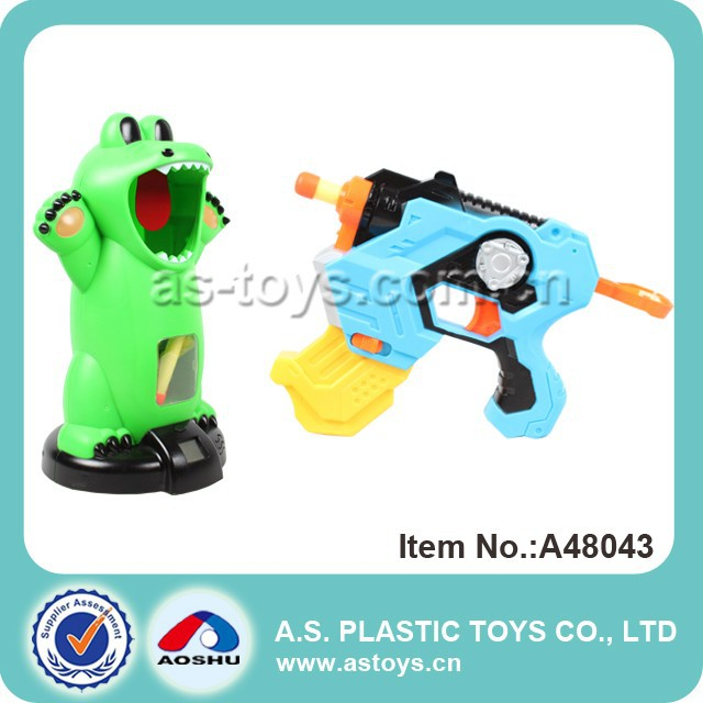 Crocodile plastic EVA balls electric soft gun
