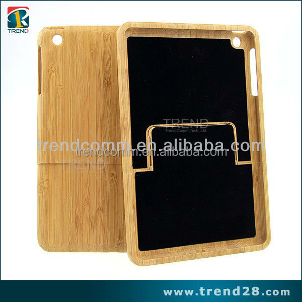 china market of electronic real wood case for ipad mini 2
