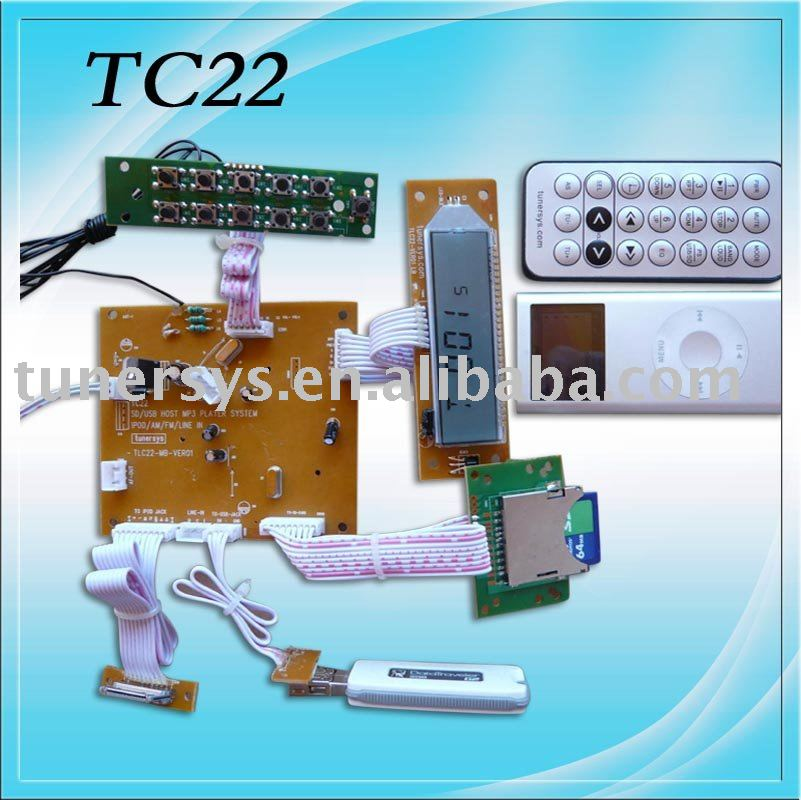 TC22 New USB SD radio AM FM MP3