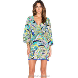 digital print beautiful kaftan dress sexy mature girls long covers