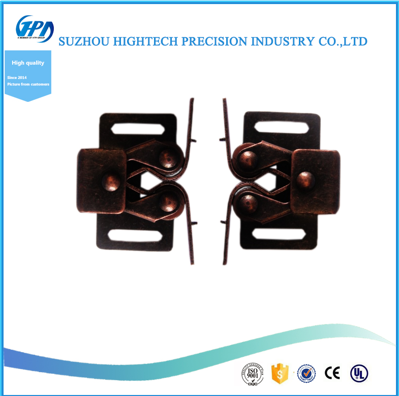 High Quality Double Roller Catch With Spring For Cabinet
