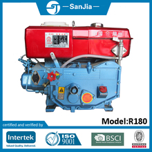Small Water Cooled Single Cylinder Diesel Boat Engine R190