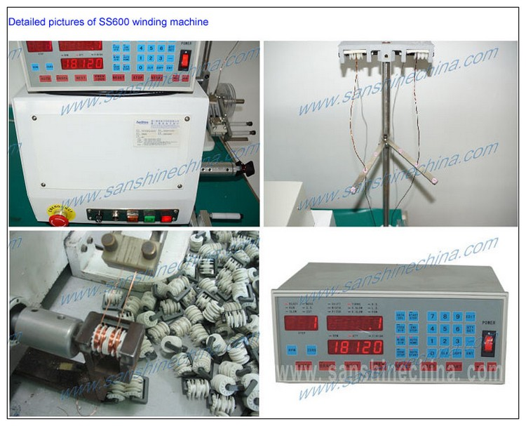 Automatic transformer winding machine