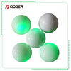 box packed custom logo printedled golf balls glowing in night bulk golf range ball