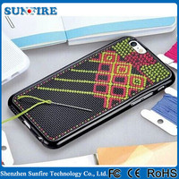 DIY cross stitch case, cross stitch phone case for samsung / for iPhone