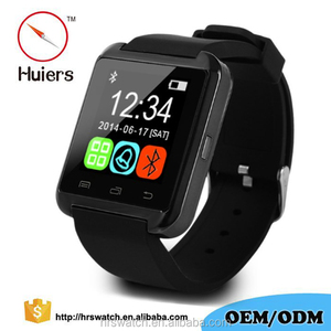 "Hot Selling Christmas gift 1.44"" Screen 128*128 BT 4.0 Touch Screen U8 Smart Watch With Camera, Smart Watch Mobile Phone"
