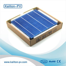 156*156MM Photovoltaic Polycrystalline Solar Panel Solar Cells 6x6 High Efficiency Grade A For DIY Solar Modules
