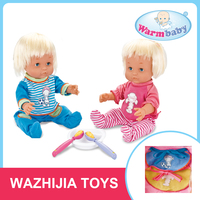 Hot sale smart boy and girl intelligent twins talking dolls for kids